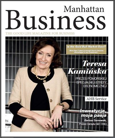 """Do not pass it on to the competition!"" Anita`s Romanowska article in Manhattan Business"