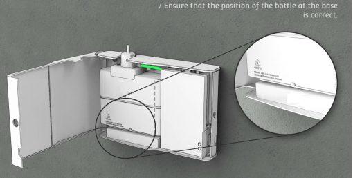 dyfuzor zapachowy ziimna dyfuzja opcja podłączenia do wentylacji lub wolnostojący lub montaż na ścianie, aromamarketing, zapach do skl;epu, zapach do hotelu