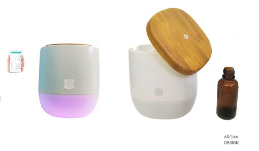 dyfuzor zapachów, aromaterapia, elektryczny odświeżacz powietrza